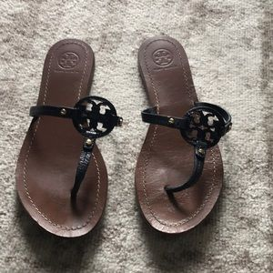 Women's Tory Burch leather thong sandals